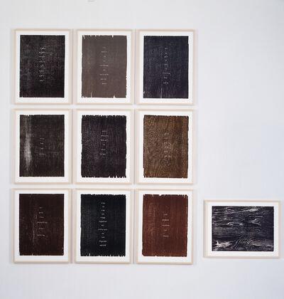 Ugo Rondinone, 'poems', 2006