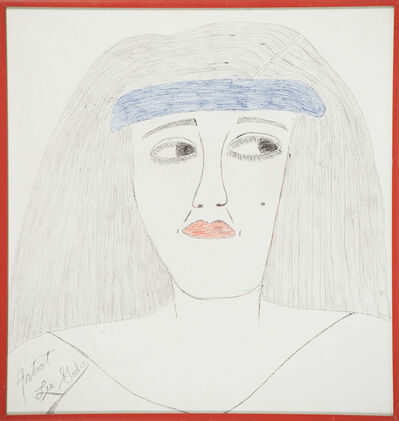 Lee Godie, 'Untitled (Self- Portrait)', ca. 1980
