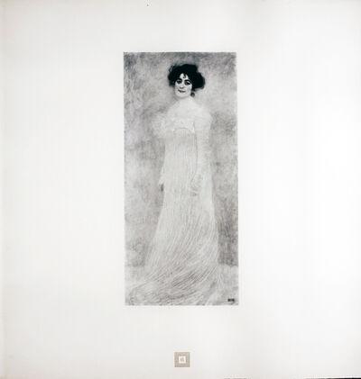 Gustav Klimt, 'Portrait of Serena Lederer [Gustav Klimt An Aftermath]', 1931