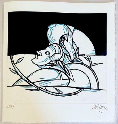 Valerio Adami, 'Les mots n'ont plus de bouche ', 1997
