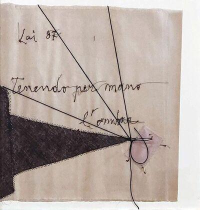 Maria Lai, 'Tenendo per mano l'ombra', 1987