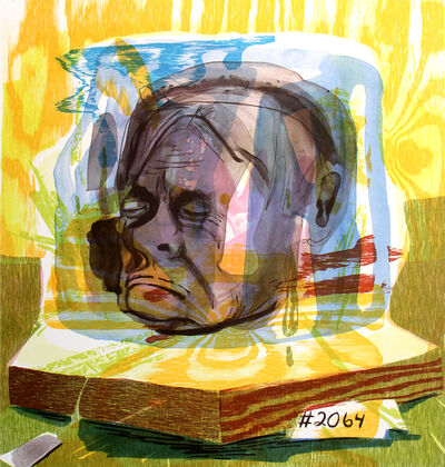 Dana Schutz, '(Untitled) Head of Timothy Leary', 2005
