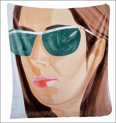 "Alex Katz, '""Ada in Sunglasses"", 2007,  Beach Towel, limited edition, 70 × 60 in. SOLD-OUT', 2007"