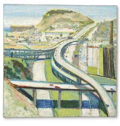Wayne Thiebaud, 'Study for Freeway', 1979