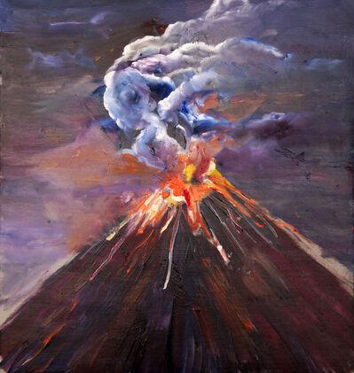Marcos Castro, 'Estudio de la explosión II [Study of the explosion II]', 2019