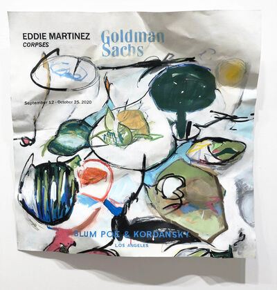 William Powhida, 'Eddie Martinez 2020', 2018