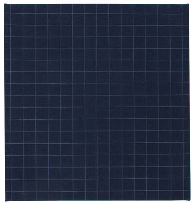 Michael Milano, 'denim grid', 2016