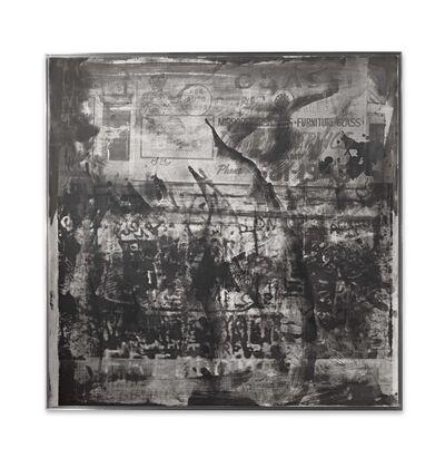Robert Rauschenberg, 'Off the Walls (Night Shade)', 1991
