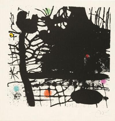 Joan Miró, 'Nuit Tentaculaire', 1969