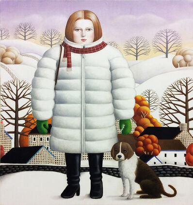 Amy Hill, 'Snow Scene', 2019