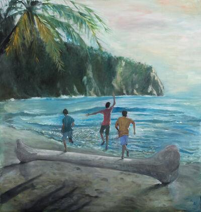 Danilo Buccella, 'Beach boys', 2019