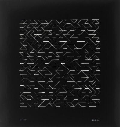 Anni Albers, 'O (Orchestra)', 1979