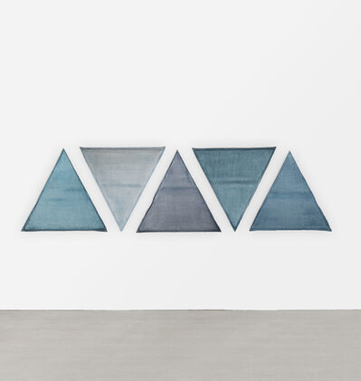 Lynn Umlauf, '5 Triangles', 1977