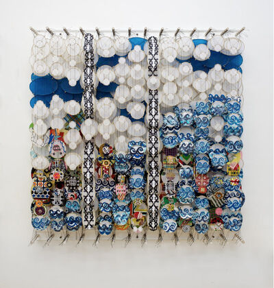 Jacob Hashimoto, 'On the Nature of Heroes', 2012