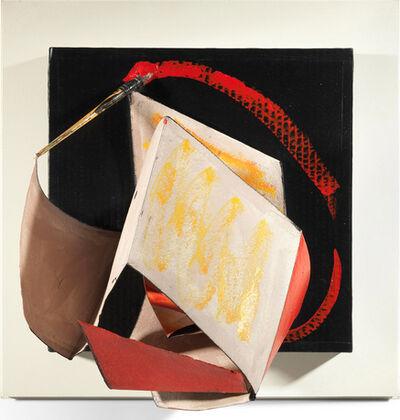 Anthony Caro, 'Paper Piece Red Line No.3', 1993