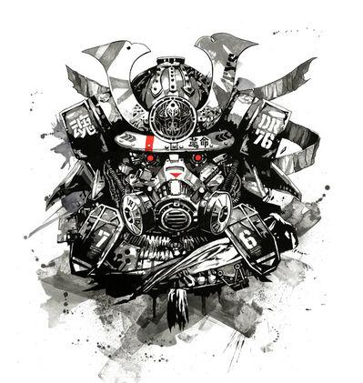 DRAGON76, 'Samurai Soul ', ca. 2018