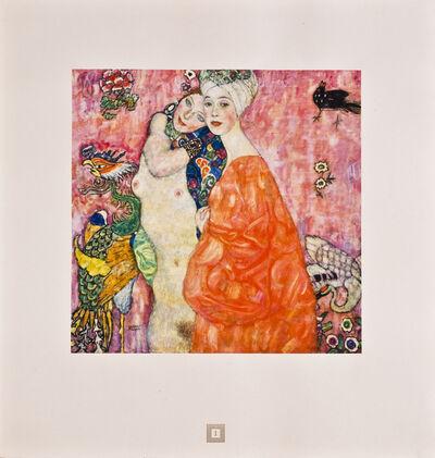 Gustav Klimt, 'Girlfriends [Gustav Klimt An Aftermath]', 1931