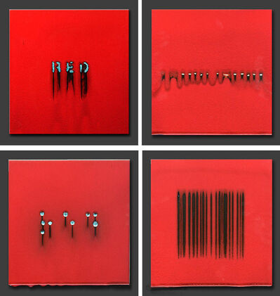 Robert Silverman, '4 Versions of Red (1)', 2012