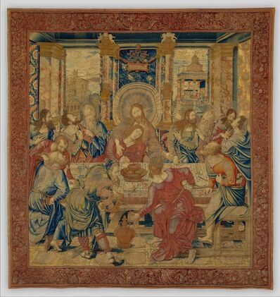 Bernaert van Orley, 'The Last Supper', ca. 1524–1528