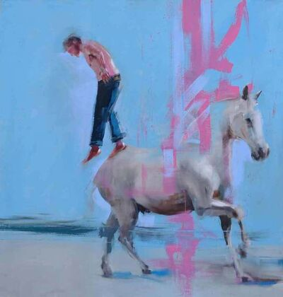Richard Twose, 'Self Portrait - Stepping off a Horse', 2019
