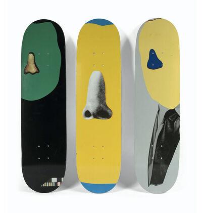John Baldessari, 'Supreme Skatedeck Collaboration Set of 3', 2010