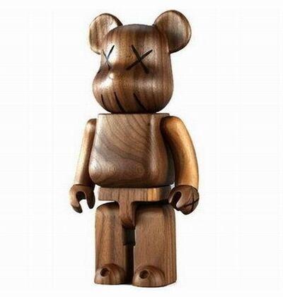 KAWS, 'BWWT 400% Wooden Bearbrick', 2005
