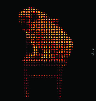Island6, 'chair pug mao', 2012
