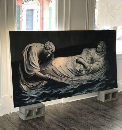 Piki Mendizabal, 'Dormition of the Virgin (Diptych)', 2017
