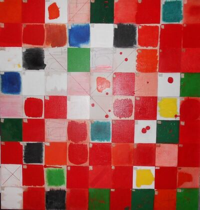 Kvĕta Pacovská, 'Squares', 1995