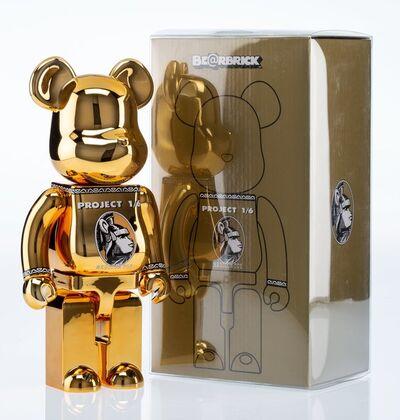 BE@RBRICK X Project 1/6, 'Centurion 400% (Gold)', 2014