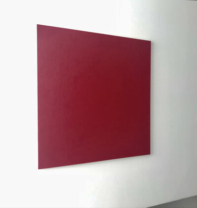 Marcia Hafif, 'from series Red Paintings: Irgazine Ruby, Oct. 3,', 1999