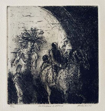 Robert Birmelin, 'Horseman & Indian', 20th Century