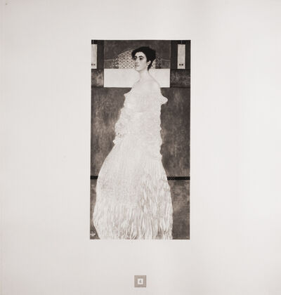 Gustav Klimt, 'Portrait of Baroness Wittgenstein [Gustav Klimt An Aftermath]', 1931