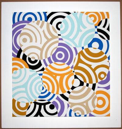 Antonio Asis, 'interferences cercles de couleurs', 2010