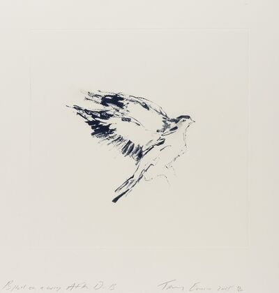 Tracey Emin, 'Bird on a Wing After DB', 2018