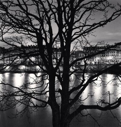 Michael Kenna, 'TREE, SEINE AND QUAI VOLTAIRE, PARIS, FRANCE, 2013', 2013