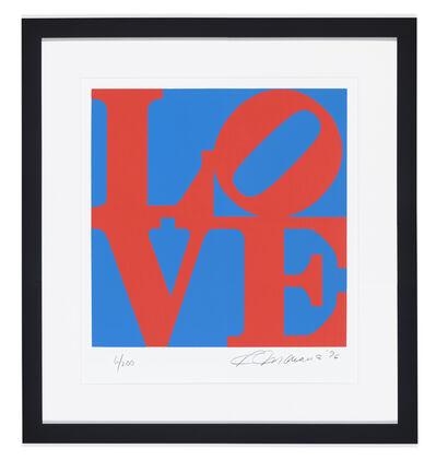 Robert Indiana, 'Book of love #1', 1996