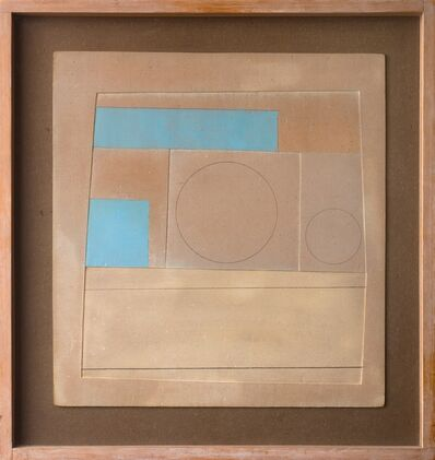Ben Nicholson, 'November 1959 (Mycenae 3 - brown and blue)', 1959