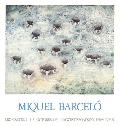 Miquel Barceló, 'Fifteen Holes', 1987