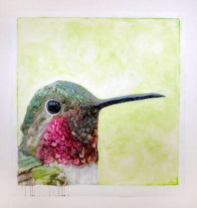 Ida Applebroog, 'Portraits (Broad-Tailed Hummingbird)', 2019