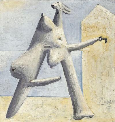 Pablo Picasso, 'Composition (Figure féminine sur un plage)', 1927