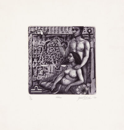Anupam Sud, 'Libra (This is a set of 12 works)', 1992