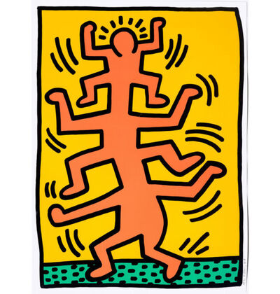 Keith Haring, 'Growing #1', 1988