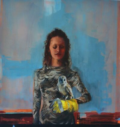 Eva de Visser, 'Lady with Glove', 2019