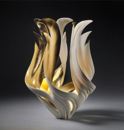 Jennifer McCurdy, 'Gilded Fire Vessel', 2020