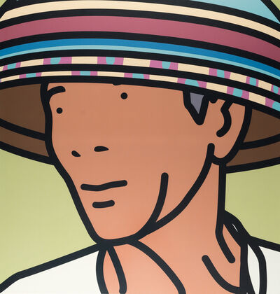 Julian Opie, 'KOMANG (Beach vendor)', 2002