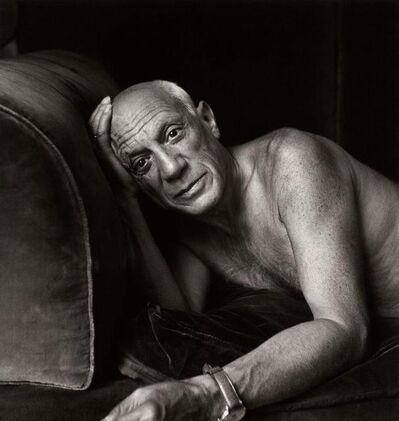 Jacques Henri Lartigue, 'Picasso, Cannes', 1955