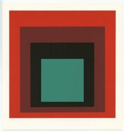 Josef Albers, 'Homage to the Square', 1983