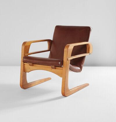 Kem Weber, 'Air Line armchair', designed 1934