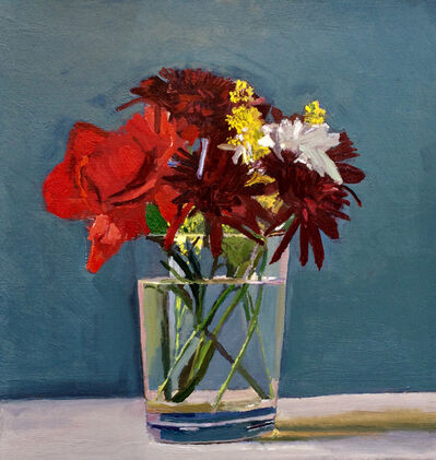 Dan McCleary, 'Mixed Flowers with Red Carnation', 2017
